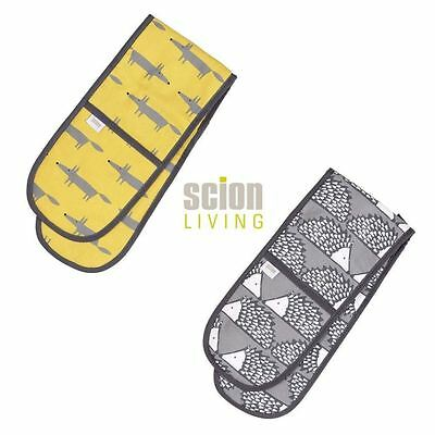 Dexam Scion Living Double Oven Gloves - Mr Fox or Spike Hedgehog