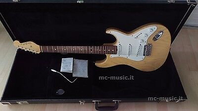 don grosh retro classic electric guitar stratocaster style trans gold ww ship