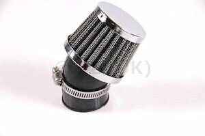 PIAGGIO TYPHOON K & N style Chrome Air Filter 45'