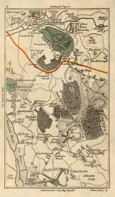 RUISLIP Rickmansworth Harefield Ickenham Northwood Denham Northolt CARY 1786 map