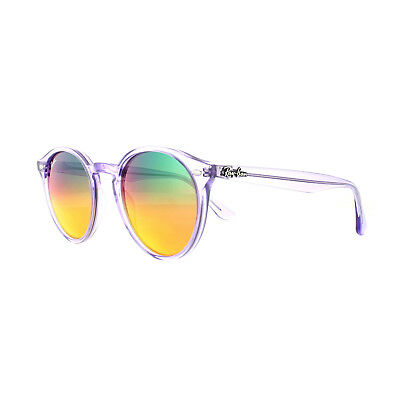 97bbe1f73e 55% OFF! - Ray Ban Icons Transparent Purple Mirror Sunglasses Rb2180 ...