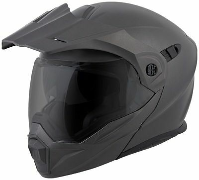 New Scorpion Exo-At950 Modular Touring Helmet Dualsport Matte Anthracite Large