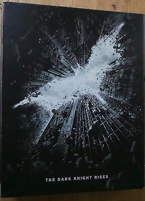 The Dark Knight Rises Script Promo Deluxe Box Fyc Limited Edition Dvd Art Book