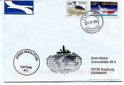 1998 Joides Resolution Cape Town CAPTAIN 471 Drilling Prog Polar Antarctic Cover