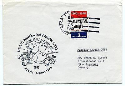 1965 USCGC Northwind WAGB-282 Arctic Operation Ice Cutter Polar Antarctic Cover