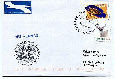 2001 M/S Lance NARE Waterfront Norge Polar Antarctic Cover