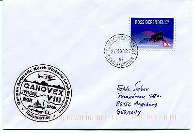 1999 GANOVEX Victoria Land Italiantartide Christchurch Polar Antarctic Cover