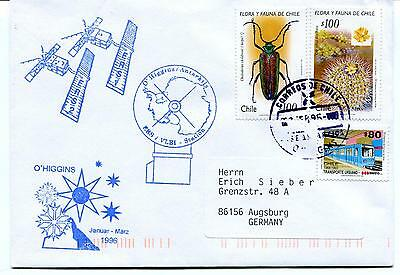 1996 O' Higgins Station ERS/VLBI Chile Satellite Polar Antarctic Cover