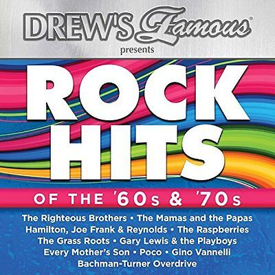 Drew`s Famous-Rock Hits Of The 60S & 70S  Cd New