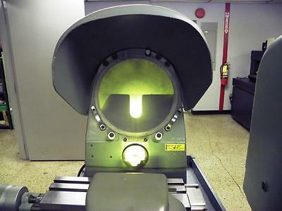"10"" Jones & Lamson J & L Bench Top Optical Comparator with 10x lens"
