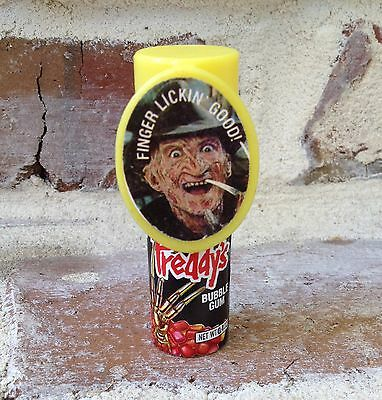 Vintage 1989 Topps FREDDY Bubble Gum candy container Nightmare on Elm St #3