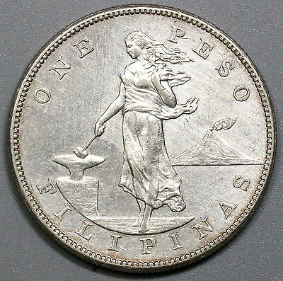 1903-S PHILIPPINES Large Silver Peso US Administration Coin (17040531R)