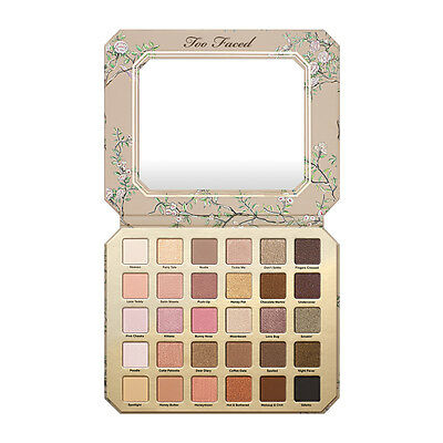 Too Faced Natural Love Eyeshadow Palette Ultimate 30 Color Eye Shadow Collection
