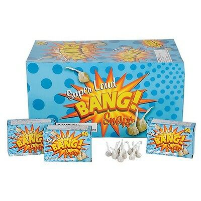 2500 Bang Party Snaps Snap Pop Pop Snapper Throwing Poppers Trick Noise Maker