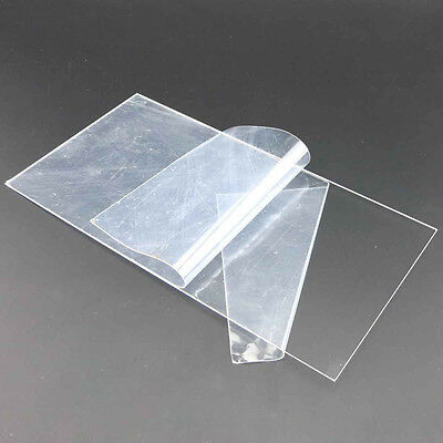 Clear Plastic Acrylic Sheet Perspex Panels 1mm Thick 80x80mm 100x200mm 200x300mm