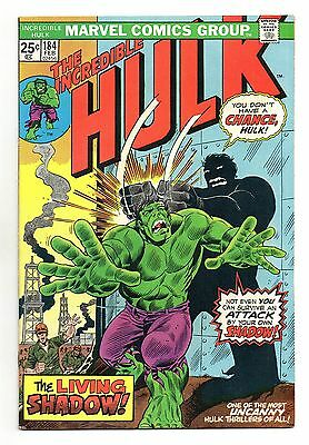 Incredible Hulk Vol 1 No 184 Feb 1975 (VFN+) Marvel, Bronze Age (1970 - 1979)