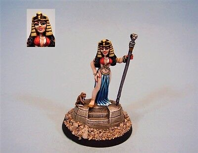 Ral Partha painted miniature Cleopatra