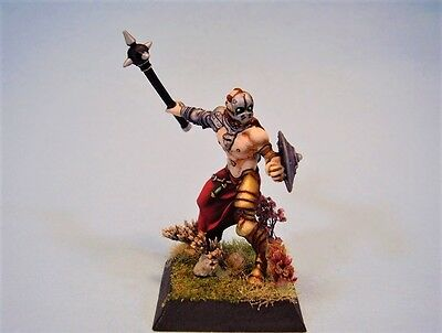 Confrontation painted miniature Dirz Warrior