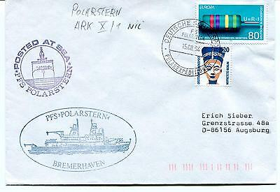 1994 Polarstern Bremerhaven Norge Posted at Sea Polar Antarctic Cover
