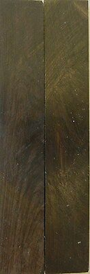 """Blackwood African (2 pc) Knife Scales 3/8"""" x 1"""" x 6"""" - 7629"""