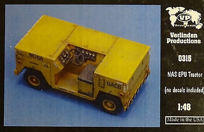 VERLINDEN PRODUCTIONS #0315 NAS EPU Tractor Resin Kit in 1:48
