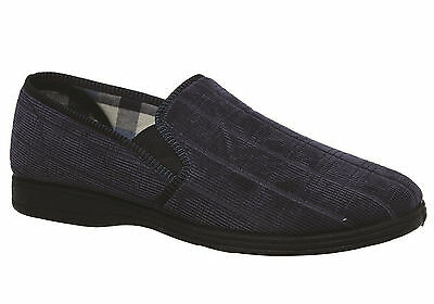 New Grosby Blake Mens Comfortable Indoor Slippers