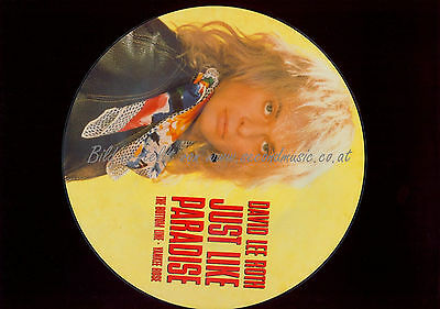 David Lee Roth Just Like Paradise   // Picture Lp /