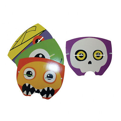 4 x Boo Crew Monsters Masks Monsters Halloween or childs Face Masks FREE P&P