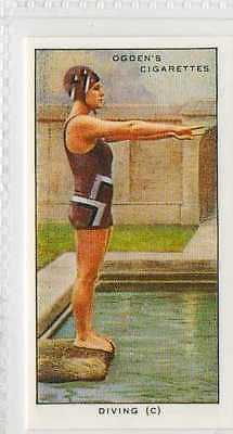 #36 diving (c) the plain header stance swimming r card
