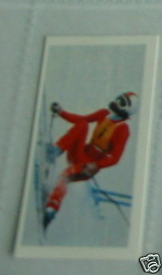 #36 Rosi Mittermaier skiing germany  olympic Sport card