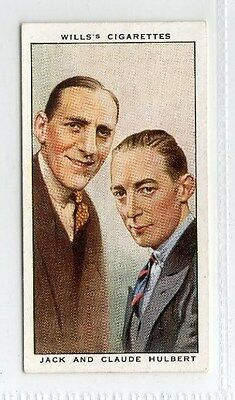 #37 jack and claude hulbert radio celebrity card