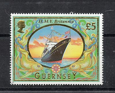 Guernsey 1998 £5 Ship STAMP Definitive SG803 Unmounted Mint REF:X268