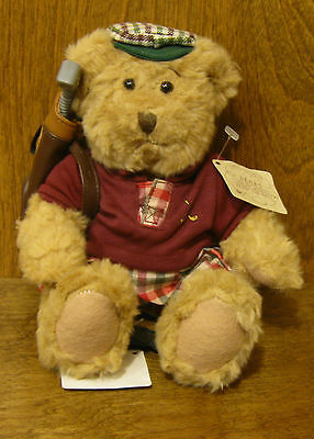 """Russ Berrie Plush #13957 CHIP , 6: From Retail Store, """"Bears From The Past"""" GOLF"""