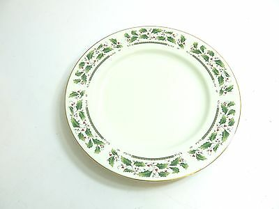 """Royal Limited Holly Holiday Large 12"""" Chop / Serving Plate China From Japan"""
