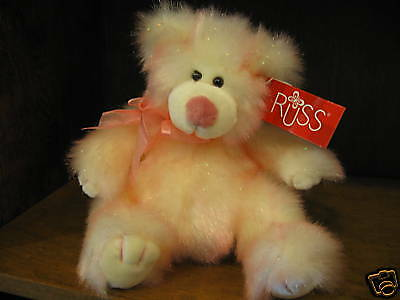 """Russ Berrie #20468 TAFFIE, 7"""" sitting, NEW with tag from our Retail Store"""