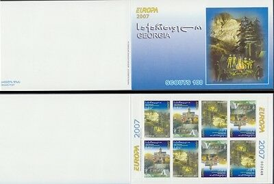 Georgia 2007 - Europa - Boyscout - T. 760 - Libretto Booklet Mnh