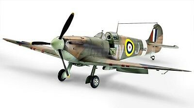 Spitfire Mk II WW2 Fighter 1/32 scale skill 4/5 Revell plastic model#3986