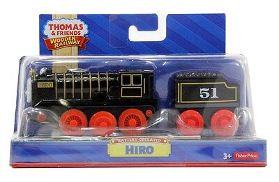 Fisher-Price Thomas the Train Wooden Railway Battery-Operated Hiro