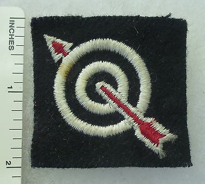 ORIGINAL WW2 BRITISH ARMY 6th ANTI-AIRCRAFT DIVISION PATCH FORMATION SIGN