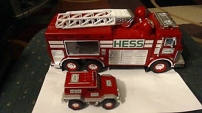 2005 Hess Fire Engine Truck And Rescue Vehicle Complete Tested Working