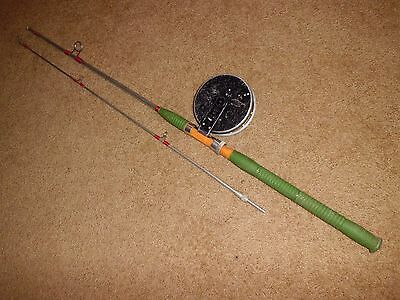 Vintage Russian CCCP 1973 Metal Rod & Reel