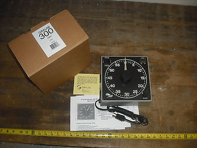 Gralab Model 300 60-Minute Darkroom Timer New in Box