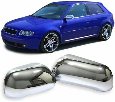 Mirror Caps Cover Covers Chrome For Audi A3 A4 A6 A8