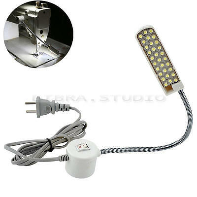 Sewing Machine LED 220V Magnetic Base Flexible Mounting Light Lighting Lamp EQ 1