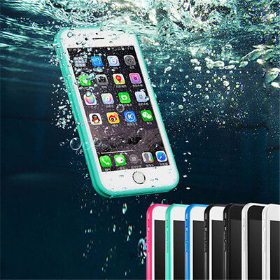 Waterproof Shockproof Hybrid Rubber TPU Phone Case For iPhone 7 6 6s Plus 5 5S