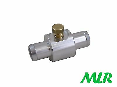 18Mm 5/8 Coolant Water Oil Temperature Gauge Hose Adaptor Insert 1/8Npt Mlr.atn