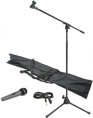 Chord 180.066 Microphone Boom Stand Kit Includes 3.0m Microphone Lead - New