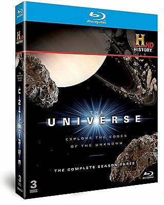 The Universe complete Series 3 Explore The Edges of The Unknown 3 Disk Blu Ray