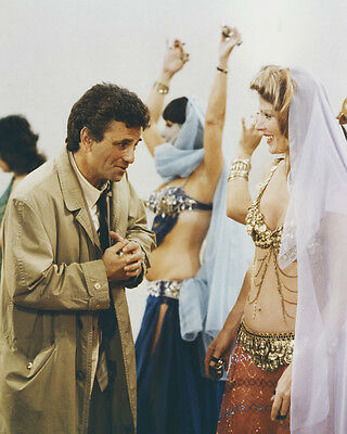 Columbo Peter Falk Mariette Hartley belly dance 8x10 Photo Try and Catch Me