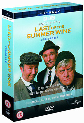Last of the Summer Wine: The Complete Series 1 and 2 DVD Box Set NEW